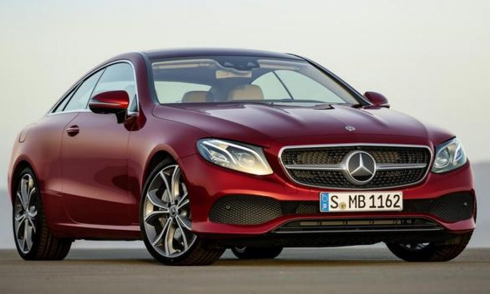 Merc's E-Class Coupé lands in SA
