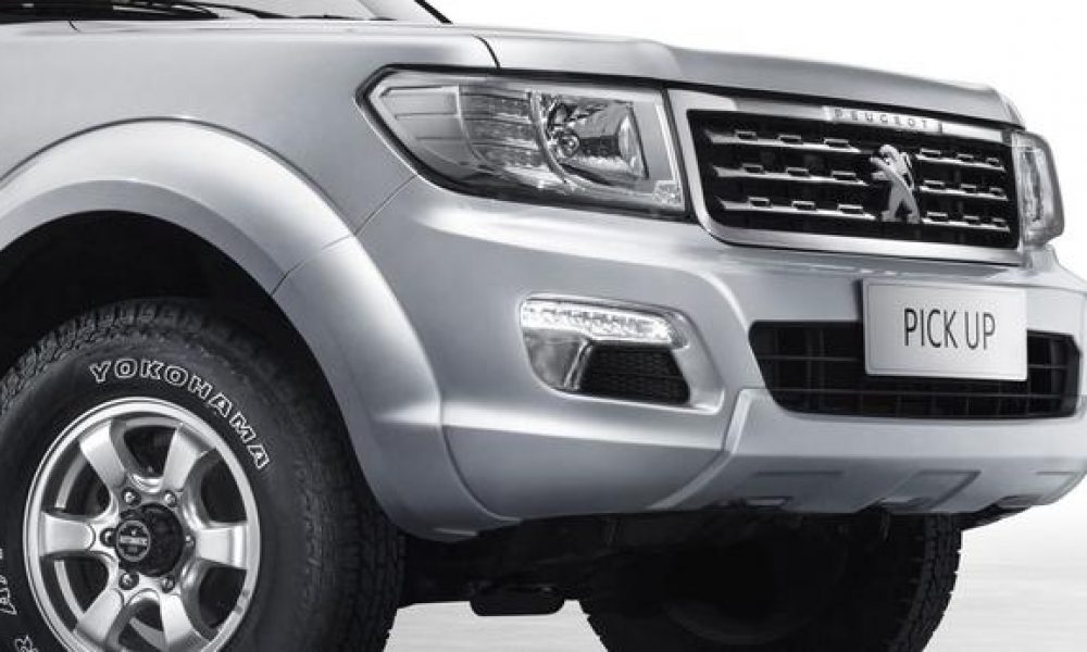 Peugeot reveals new 'built for Africa' bakkie