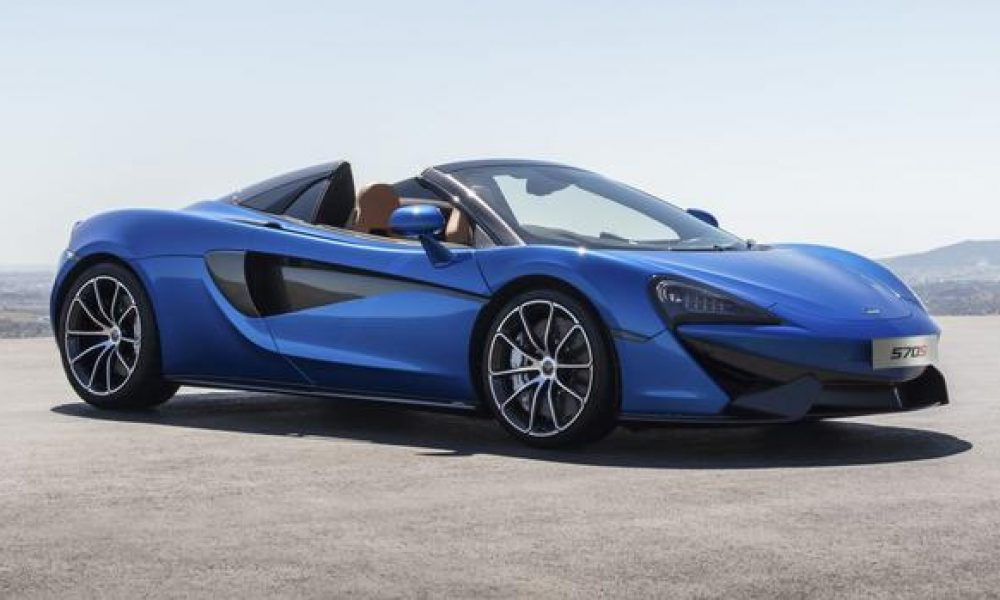 McLaren's 570S does the topless tango
