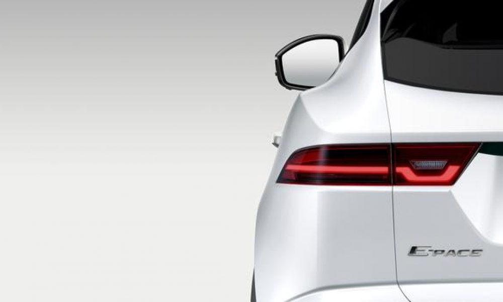 Jaguar (partially) unveils new E-Pace crossover