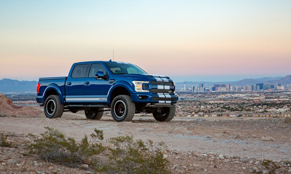 Shelby F150 MEET SA'S NEW KING OF BAKKIES