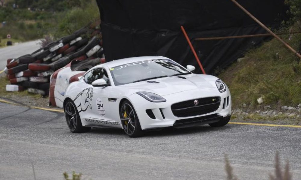2015 JAGUAR SIMOLA HILLCLIMB A ROARING SUCCESS
