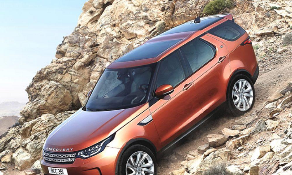 "Land Rover se ""slim"" Discovery land in Julie Artikel: Gerrie Smit. Foto: Verskaf"