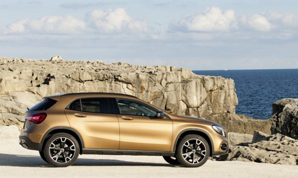 Mercedes GLA vind baat by lekker opknapping Artikel: Charlen Raymond