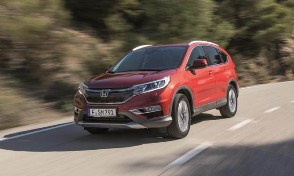 Facelifted Honda CR-V