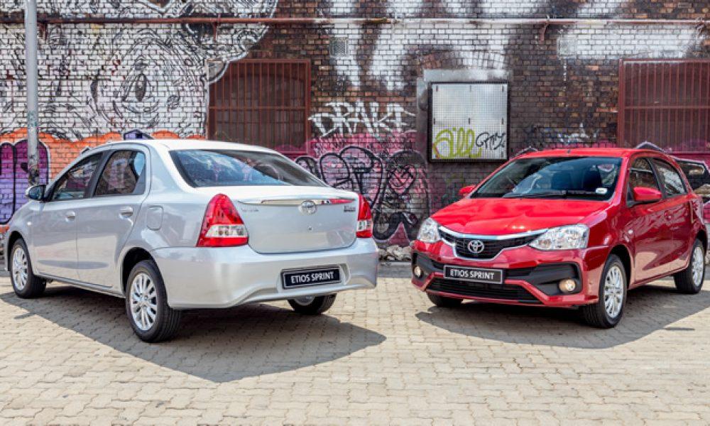 Nuwe Toyota Etios Sprint Artikel: DIRK GALLOWITZ