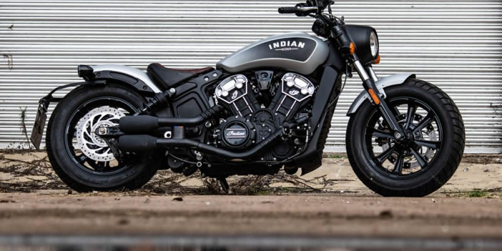 Indian Scout Bobber Art you can Ride