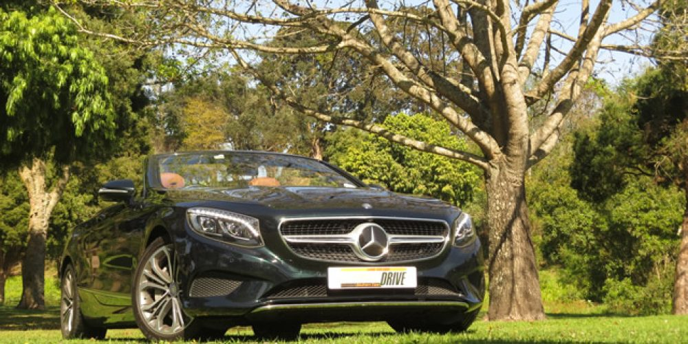 """Merc S500 Cabriolet """"One of the world's finest cars."""""""