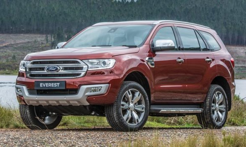 New features for Ford's Ranger and Everest