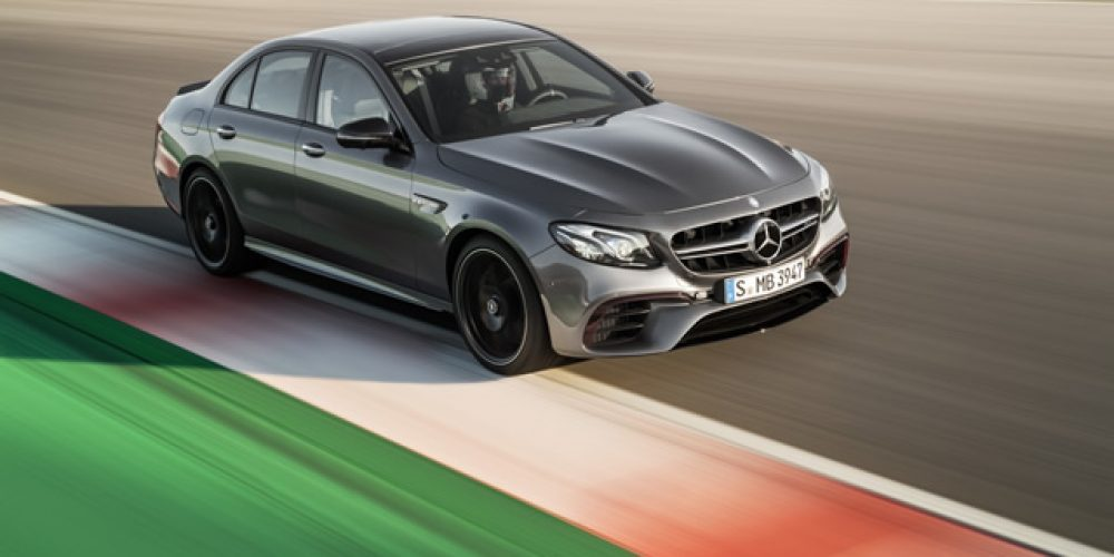 The most powerful E-Class of all time.
