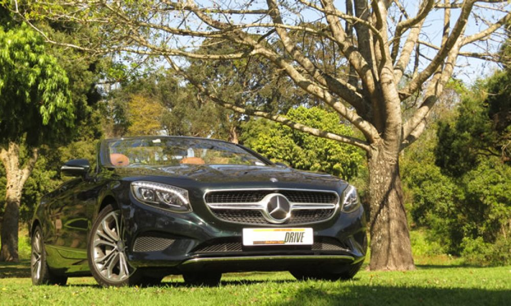 "Merc S500 Cabriolet ""One of the world's finest cars."""
