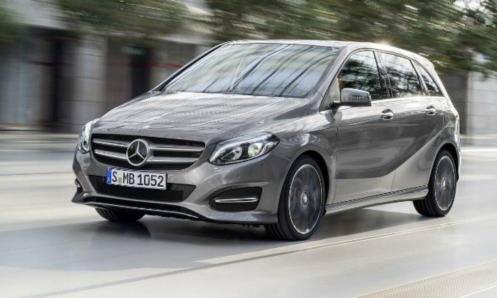 New B-Class Mercedes Benz