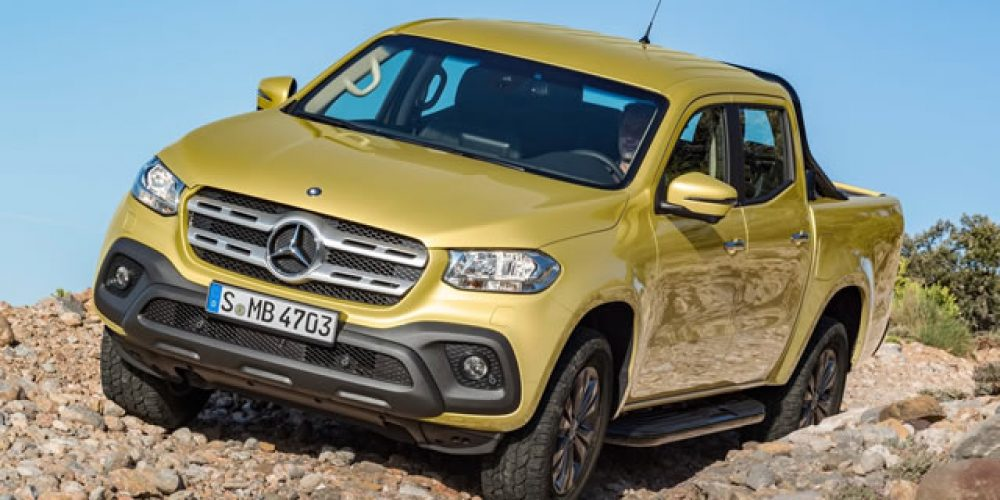 Six things you should know about the Mercedes-Benz X-Class Article: Johann van Tonder