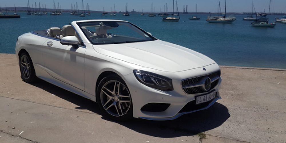 2017 Mercedes-Benz S-Class Cabriolet Dekadente opulensie DEUR DIRK GALLOWITZ