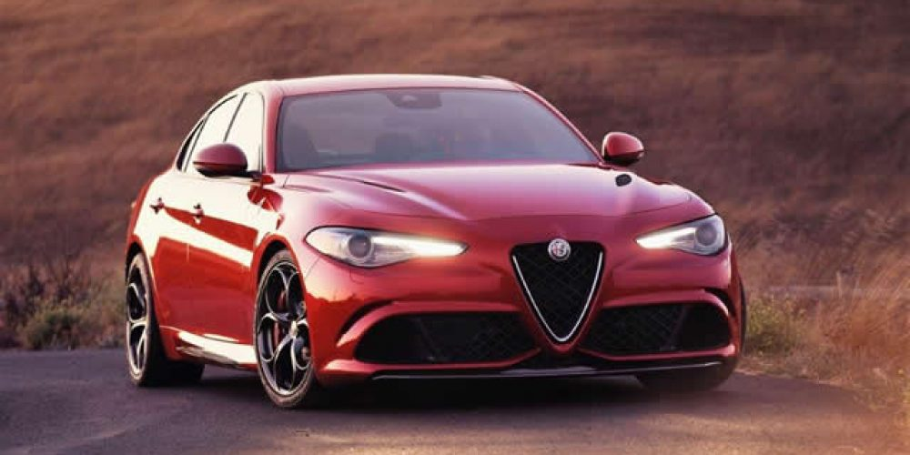 Alfa Romeo Giulia From fast and the furious to business express Article: Richard Wiley