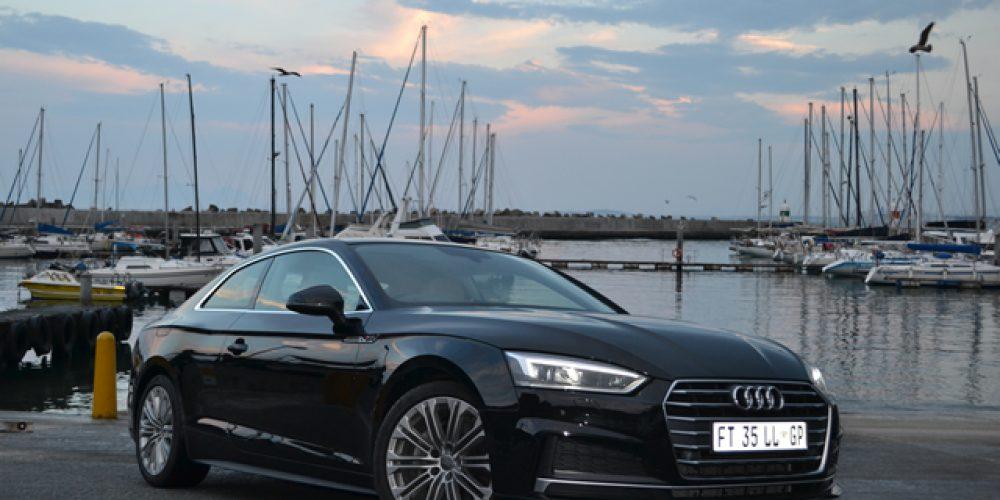 Audi A5 'n genotvolle ryding Artikel en Fotos: Charlen Raymond