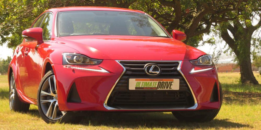 Lexus IS reeks vir 2017  DEUR DIRK GALLOWITZ, FOTO ROSALYN VAN ZYL