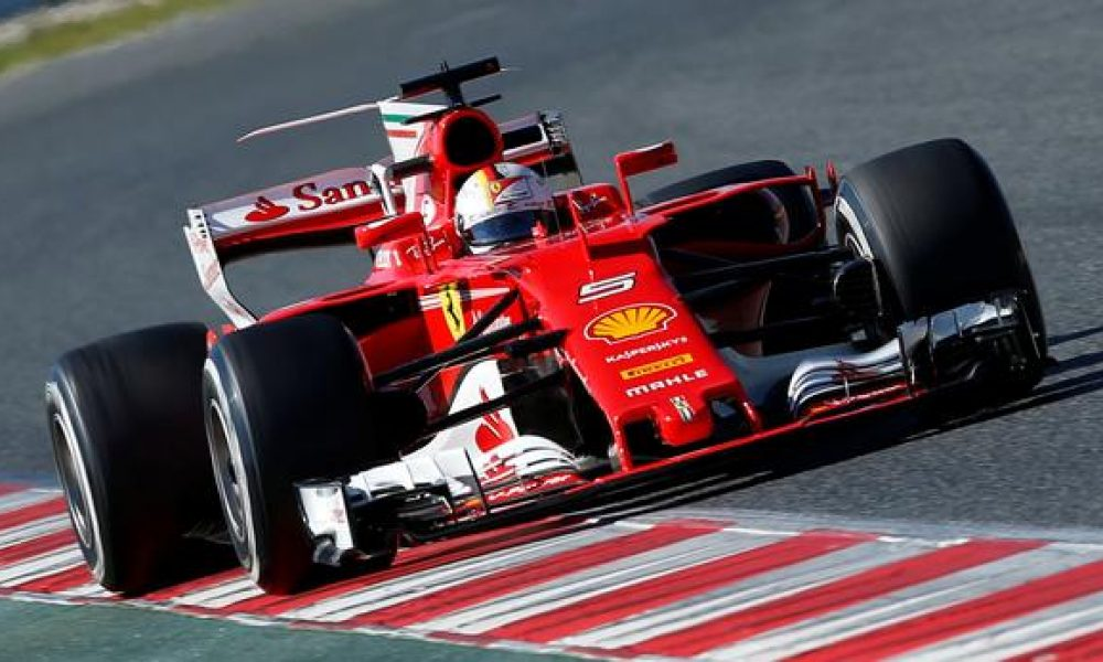 Vettel downplays Ferrari hype ahead of Spain GP