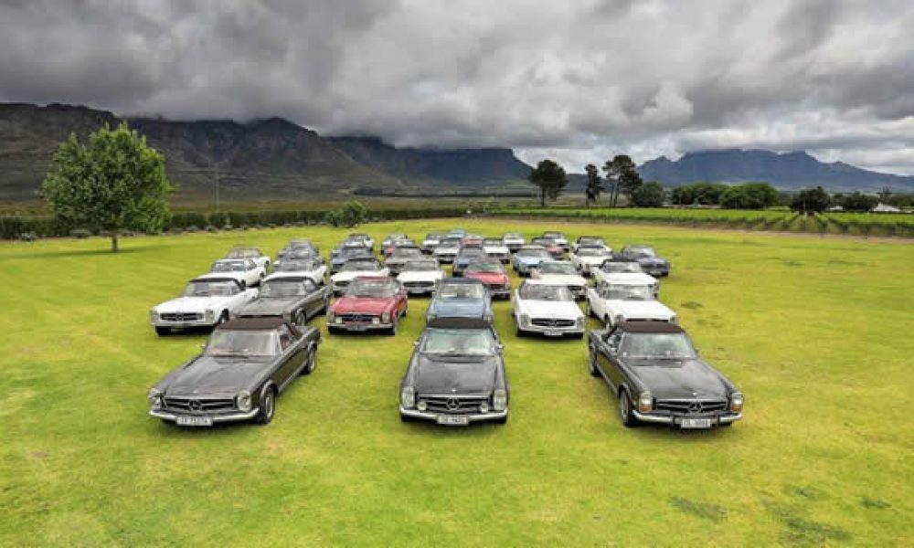 Pagodas raise the roof in the Western Cape