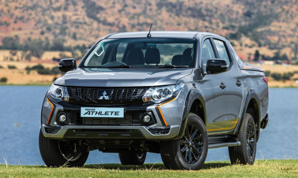 Mitsubishi Triton gets Athletic