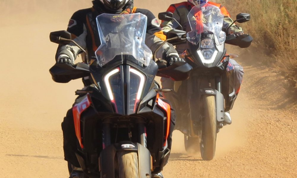 KTM's new Adventure Range breaks new ground.  Article and Photos: Johann van Tonder