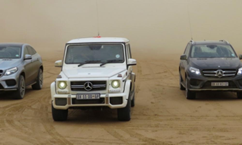 Mercedes takel die SUV segment behoorlik Nuwe GLC, GLE en G-klas stel nuwe standaarde Deur Dirk Gallowitz