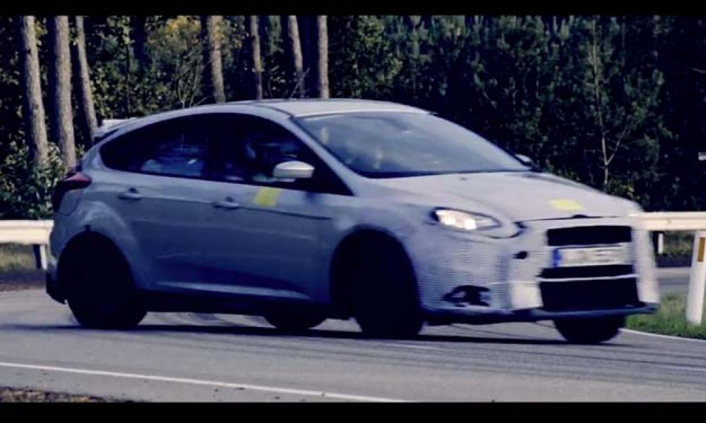 Ford Focus RS Teaser