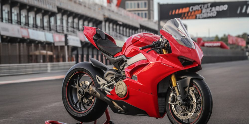The Ducati Panigale V4S  2018 SA Bike of the Year