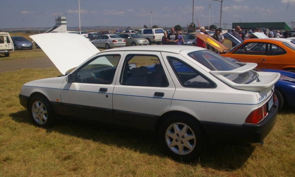 Unique to South Africa Ford Sierra XR8 1984-1985